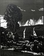 Dép. De La VIENNE - QUEAUX-QUIO - BOIS ORIGINAUX GRAVES Par JEHAN BERJONNEAU EN 1932 - Engravings