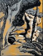 Dép. De La VIENNE - LA GROTTE DE CHAFFAUD - BOIS ORIGINAUX GRAVES Par JEHAN BERJONNEAU EN 1932 - Engravings