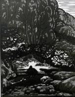 Dép. De La VIENNE - CIVAUX - BOIS ORIGINAUX GRAVES Par JEHAN BERJONNEAU EN 1932 - Engravings