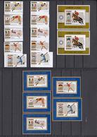 Ajman Nov 1971 Mi # 1210-14AB Bl 327AB 5 Einzelblocks German Olympic Goldmedalwinners, Munich Summer Olympics MNH OG - Verano 1972: Munich