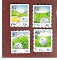 IRLANDA (IRELAND) - SG 1800.1803  -   2006  RYDER CUP, GOLF (COMPLET SET OF 4)    - USED - 1949-... Repubblica D'Irlanda