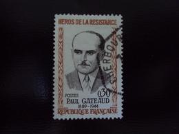 """à Partir De 1960-timbre Oblitéré N°  1290   """" Gateaud    """"           Net  1 Euro   Photo  2 - France"""