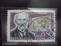 """à Partir De 1960-timbre Oblitéré N°  1284   """" G; Melies     """"    Net 0.40   Photo 2 - Used Stamps"""