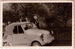 Russian Invacar СМЗ С3-А Vintage Photo 1958 - Cartes Postales