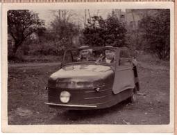 Russian Thundersley Invacar СМЗ С-1Л Vintage Photo 1952 - Cartes Postales