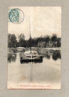 CPA - BETHENCOURT-sur-SOMME (80) - Aspect De La Péniche Lagardère Dans Le Canal En 1905 - Other Municipalities