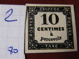 Tax No 2 Neuf **  Ttb - France