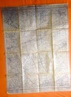 STAFKAART 1/10.000 BOOISCHOT Heist-op-den Berg Sit 1951 HULSHOUT HERSELT BEGIJNENDIJK HOUTVENNE RAMSEL WESTMEERBEEK S384 - Heist-op-den-Berg