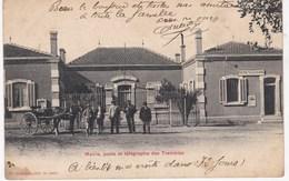ALGERIE TREMBLES SIDI BEL ABES Mairie Poste Télégraphe - Sidi-bel-Abbès