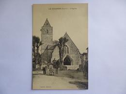La Colombe.  L'église.  Gendarmes à Cheval. - Autres Communes