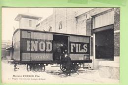 PONTARLIER - Maison PERNOD Fils - Wagon Réservoir Pour Transport Alcool - Absinthe - TBE - 2 Scans - Pontarlier