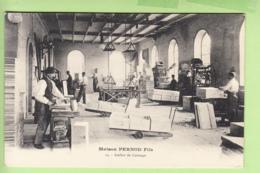 PONTARLIER - Maison PERNOD Fils - Atelier De Caissage - Absinthe - TBE - 2 Scans - Pontarlier