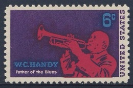 USA 1969 Mi 982 YT 875 Sc 1372 SG 1359 * MH - William Christopher Handy (1873-1958) Composer Jazz Musician Creator Blues - Muziek