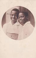 CARTOLINA - POSTCARD - AFRICA - BAMBINI AFRICANI - VIAGGIATA DA VIMERCATE ( MILANO ) PER ROMA - Cartoline