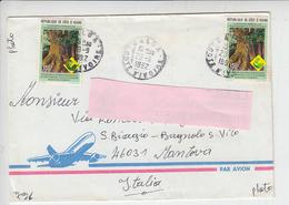 COSTA D'AVORIO 1992 -  Yvert 900K - Protezione Natura - Costa D'Avorio (1960-...)