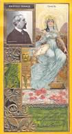 LU LEFEVRE UTILE Chromo Gauffré Dorure  ANATOLE FRANCE Par NADAR Photo - THAIS (Art Nouveau)*PRIX FIXE - Lu