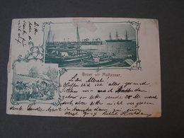 Indien NL Groet Uit Makasser 1900 Nach Hamburg , Not Perfekt - Nederlands-Indië