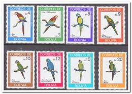 Bolivië 1981, Postfris MNH, Birds, Parrots - Bolivië