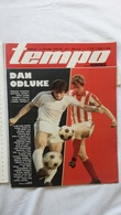 1978 TEMPO YUGOSLAVIA SERBIA SPORT FOOTBALL MAGAZINE NEWSPAPER ARGENTINA ALBIN PLANINS CHESS SAILING - Otros