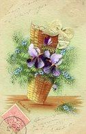 FLEUR(CARTE PEINTE A LA MAIN) - Flores