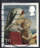 Royaume Uni 2017 Oblitéré Used Madonna And Child La Vierge Et L'enfant - 1952-.... (Elizabeth II)