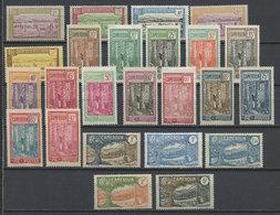 Cameroun - Kamerun - Cameroon 1925-27 Y&T N°106 à 130 - Michel N°69 à 93 * - Série Courante - Ungebraucht