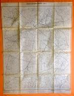 STAFKAART 1/10.000 HEIST-OP-DEN-BERG Meting1951 BEERZEL SCHRIEK GROOTLO HALLAAR GOOR PIJPELHEIDE HEIKANT Tremelo S386 - Heist-op-den-Berg