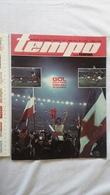 1974 TEMPO YUGOSLAVIA SERBIA SPORT FOOTBALL MAGAZINE NEWSPAPERS IVICA SURJAK NENAD CVETKOVIC PARTIZAN LEEDS UNITED FC - Deportes