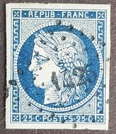 1849 - 1850 Céres, 25c, France - 1849-1850 Ceres