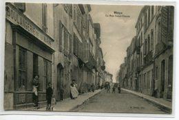 """33 BLAYE Rue Saint Simon """" Boulangerie De La Marine"""" Animation Edit A Barou - écrite En 1916 De Blaye  Voir D   D03 2019 - Blaye"""