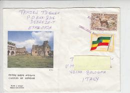 ETIOPIA  1993 - Yvert 1188-1292 - Animali - Bandiera - Etiopia