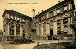 Institution Sainte-Odile Lot De 4 Cartes  COLMAR Ed Braun - Colmar