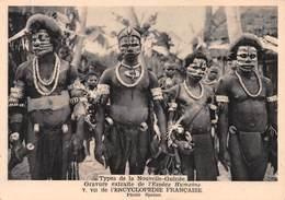Types De La Nouvelle-Guinée - Photo Speiser - Tatouages - Papouasie-Nouvelle-Guinée