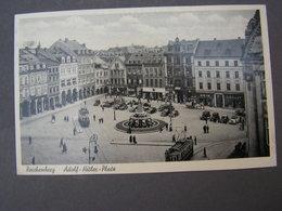 Liberec Reichenberg , Adolf Platz Luftschutz 1940 - Tschechische Republik