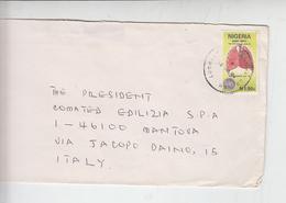 NIGERIA  1992 - Yvert  606 - Medicina - Cuore - Polmoni - Nigeria (1961-...)
