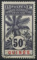 Guinée (1906) N 43 (o) - Guinée Française (1892-1944)
