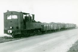 Entre Nangis Et Jouy-le-Châtel. Economiques De Seine-et-Marne. Train De Betteraves. Cliché Jacques Bazin. 26-10-1963 - Eisenbahnen