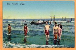 Lido Venezia Italy 1910 Postcard - Venezia