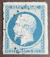 1852, President Louis Napoléon, Bleu Terne, France, Republique Française - 1852 Louis-Napoléon