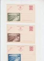 Publibel Neuve N° 686 A Brune,verte, Bleue (MIDDELKERKE) Les 3 (plage, Cinéma,film) - Stamped Stationery