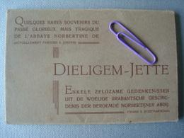 JETTE : Carnet De 12 Cartes Concernant L'abbaye NORBERTINE - Jette