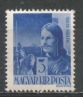Hungary 1943. Scott #603 (M) Miklòs Toldi * - Neufs