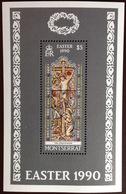 Montserrat 1990 Easter Minisheet MNH - Montserrat