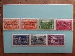 ALBANIA 1925 - Caduta Del Regime - Nn. 104/10 - Nuovi * + Spese Postali - Albania