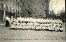 ETTERBEEK : Patronage St Jean Berchmans  / Section De Gymnastique - Etterbeek