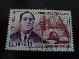 """à Partir De 1960-timbre Oblitéré N°  1300   """" Apollinaire    """"    2.5  Euros   Photo 1 - Oblitérés"""