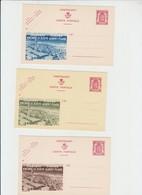 Publibel Neuve N° 687  ,brune Verte, Bleue - Le Zoute - Stamped Stationery