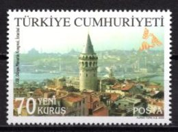 2005 TURKEY 22ND WORLD ARCHITECTURE CONGRESS MNH ** - Ongebruikt