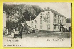* Remouchamps (Aywaille - Liège - La Wallonie) * (Nels, Série 20, Nr 96) Hotel Et Entrée De La Grotte, Belle Animation - Aywaille