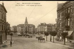 ETTERBEEK :  Place  St Pierre : Ecole Moyenne Des Garçons - Etterbeek